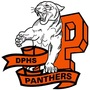 V 90 90 dphs panthers standing on banner